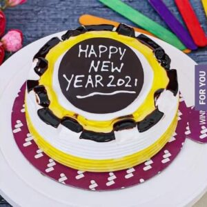 New Year Mix flavoured cake