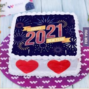 WELCOME NEW YEAR CAKE