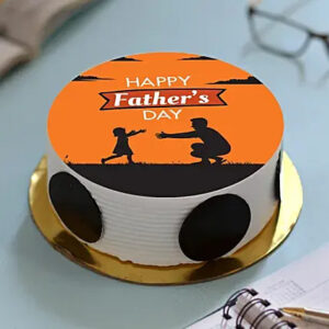 Father day photo cake