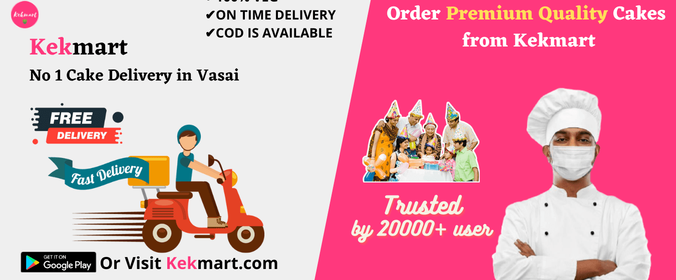 Online cake delivery in vasai